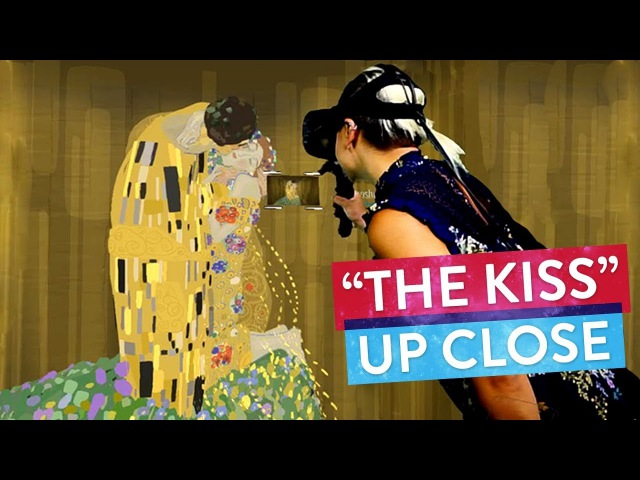 The Kiss by Gustav Klimt Painted in Virtual Reality! | Art Attack Master Works