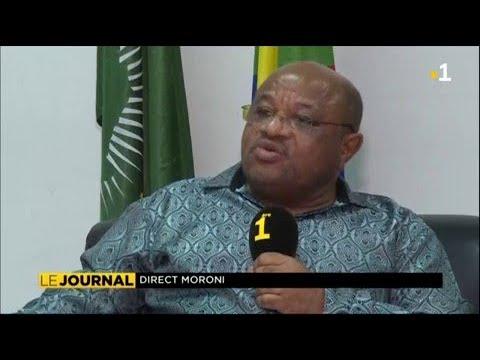 Souef Mohamed El-Amine, ministre comorien des affaires étrangères s'explique sur Mayotte la 1ere