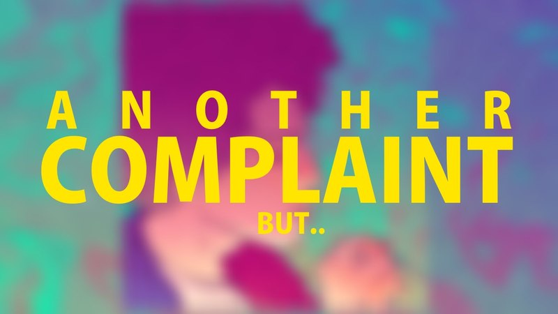 Rilès - Another Complaint, But (Lyric Video)