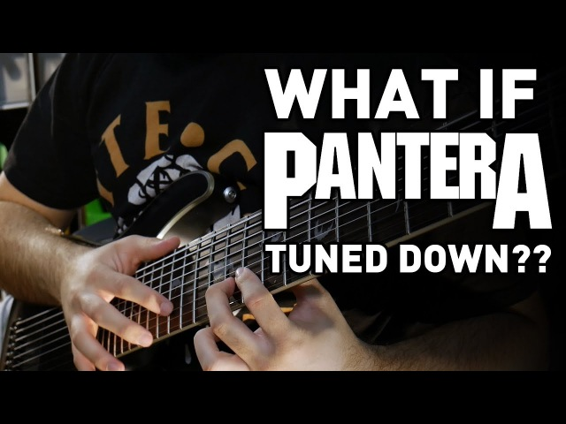 9 String Pantera Guitar Riff Compilation