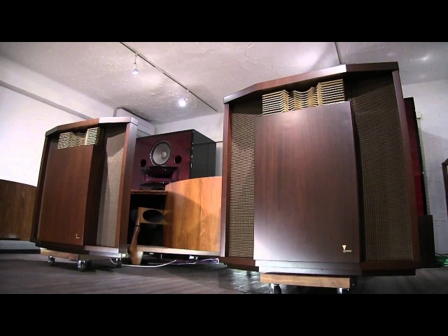 THE BEST JBL HARTSFIELD IN THE WORLD restored by KENRICK SOUND 世界一のハーツフィールド完成 10