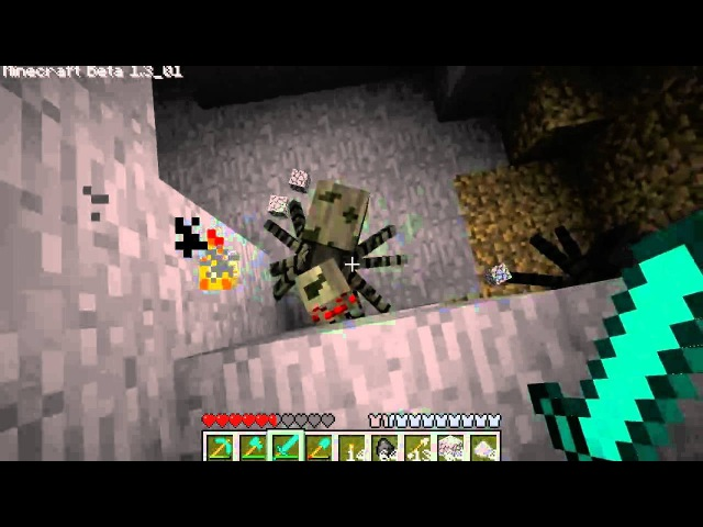 Дмитрий Дозкоз MineCraft BETA цикл 54 серия Гнусавый голос