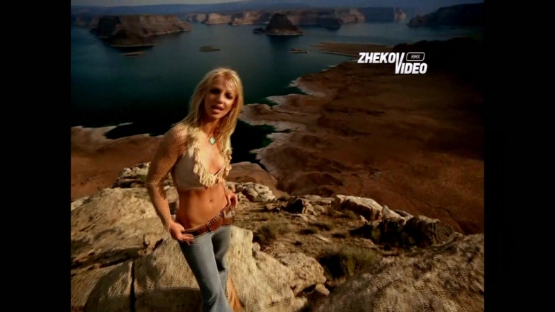 Britney Spears - I'm Not A Girl, Not Yet A Woman (Spanish Fly Mix) Eugene Zhekov Video Mix
