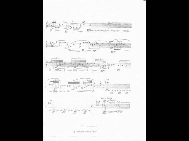 Hans Werner Henze: Sonatina for solo trumpet (1974) Hakan Hardenberger