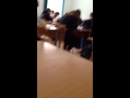 На уроке 😹