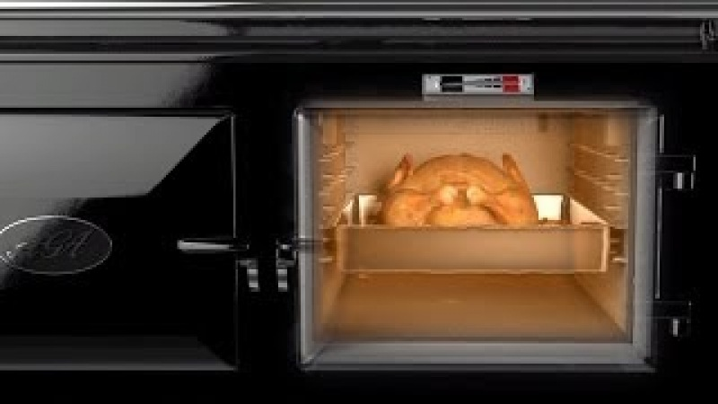 How an AGA cooker works