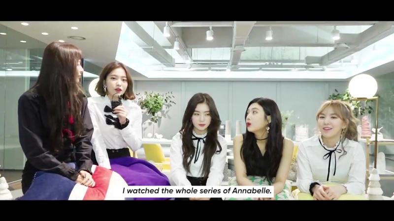 180123 Red Velvet @ Bandwagon interview