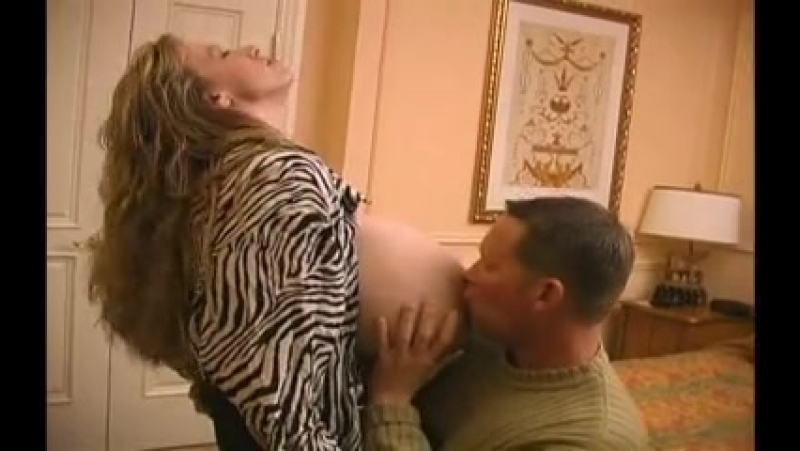 Chelsea Charms has a lucky man feasting on her huge breasts