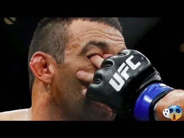 Көзінен қауіпті жарақат алған MMA спортшылары