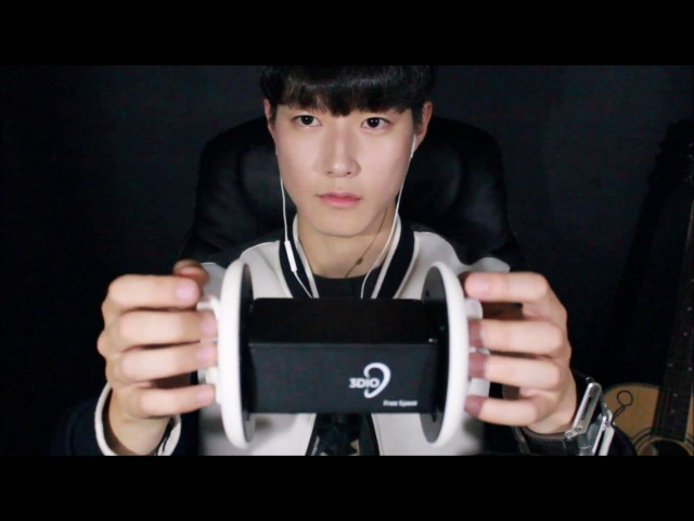 【SUB】 KOREAN ASMR|자극적인 귀마사지(알로에수분크림)|남자 ASMR|3DIO 마이크(41:30)
