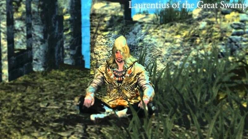 Dark Souls Dialogue - Laurentius of the Great Swamp (incl. unused content)