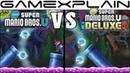New Super Mario Bros. U Deluxe Graphics Comparison (Switch vs Wii U)