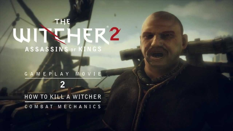 The Witcher 2 Combat Trailer : How To Kill A Witcher