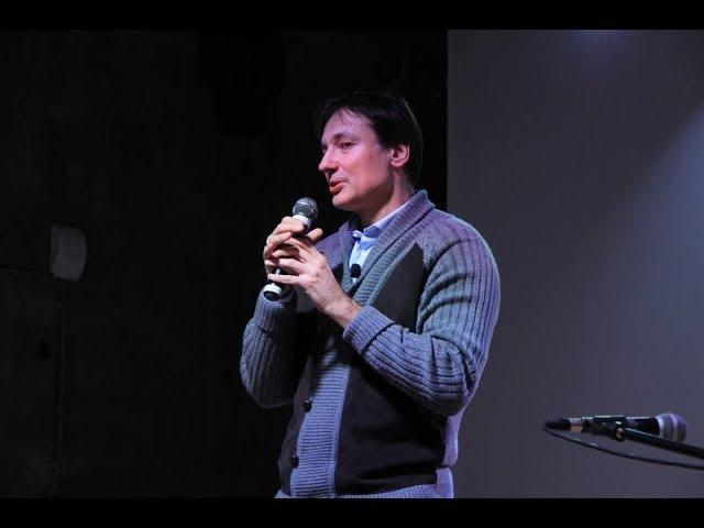 Творческий вечер Павла Санаева в Новосибирске 04 12 2017