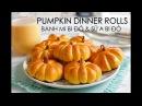 Soft Fluffy PUMPKIN DINNER ROLL recipe Cách làm BÁNH MÌ SỮA BÍ ĐỎ