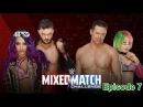 Wrestling Premium WWE Mixed Match Challenge The Miz , Asuka VS Finn Balor Sasha