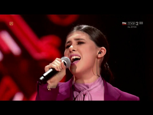 "Sabina Mustaeva ""Think"" Live 2 The Voice of Poland 8"