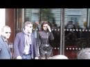 Белла и Джиджи покидают отель «Royal Monceau», Париж (03.05.18)