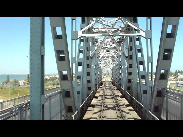 Мост на перегоне Бугаз - Каролино-Бугаз