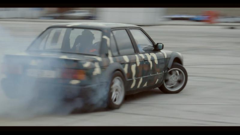 BMW E30 Drifting in Rustavi