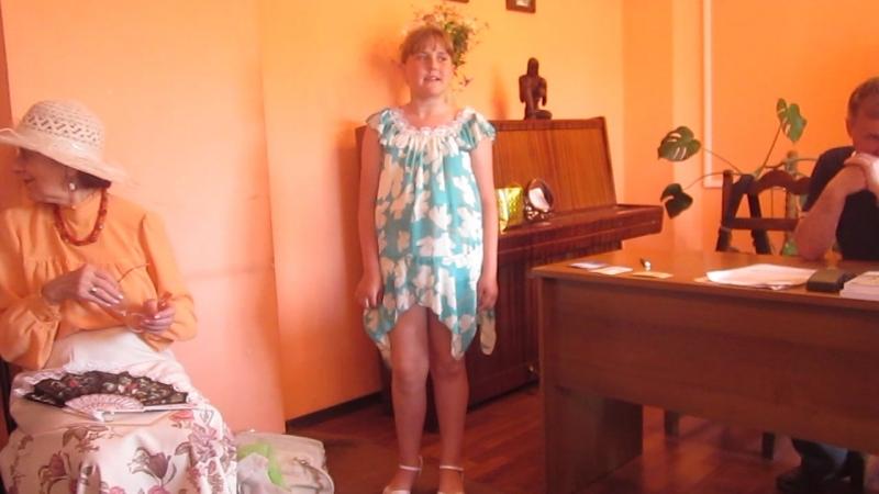Дааша Тимашкова-2 - краевая 21.06.2014 год Клуб Новый Енисейский литератор