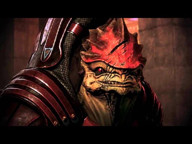 Grunt vs Shepard vs Wrex in talking (Citadel DLC)