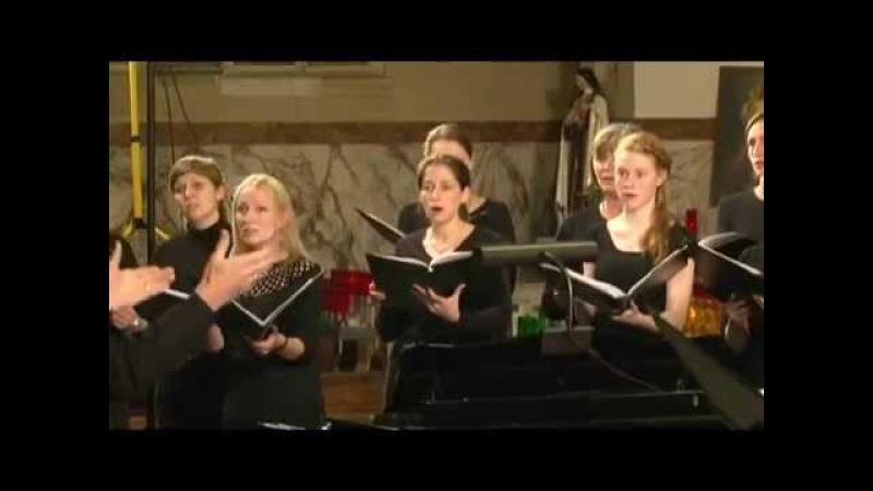 J.S. Bach: Choral: Ich ruf zu dir, Herr Jesu Christ, BWV 639, vocal concertisten