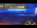 Эффект быстрого жидкого стекла CarPro