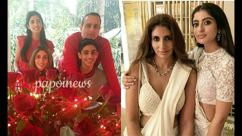 Amitabh Bachchan's Daughter Shweta with Husband Nikhil Nanda Children