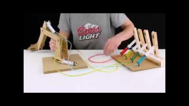 Как сделать подъемный кран в домашних условиях