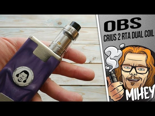OBS Crius 2 RTA Dual Coil Version 4ml. Старая идея, новая реализация?