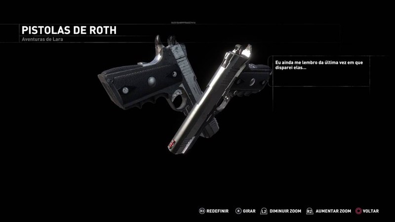 Rise of the Tomb Raider: Dual Pistols (Blood Ties DLC)
