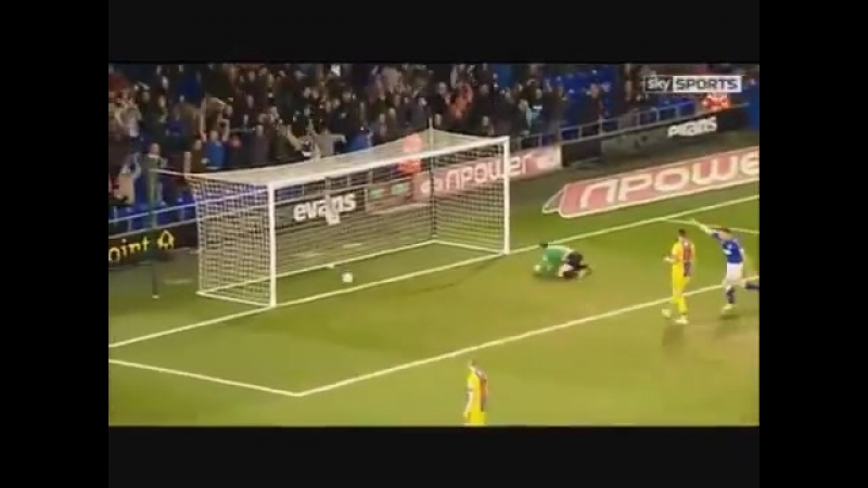 Ipswich Town 3 - Crystal Palace 0 Cresswell Goal