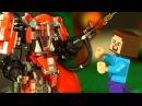 ЛЕГО НУБик 👾 РОБОТ LEGO Ninjago Movie Майнкрафт Мультики для Детей LEGO Minecraft Мультфильмы