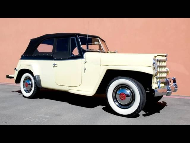 Willys Overland Jeepster Phaeton VJ 1950