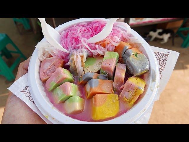 Indian Street Food RAINBOW ICE CREAM Kulfi Falooda Ice Gola