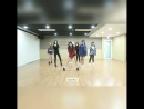 AOA «Excuse me» (dance practice mirrored 0,5x slow)