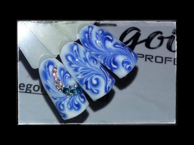 ❤ ЗИМНИЕ мотивы ❤ ДИЗАЙН за 30 СЕКУНД ❤ EGOISTA professional ❤ ЗИМНИЙ дизайн ногтей гель лаком ❤