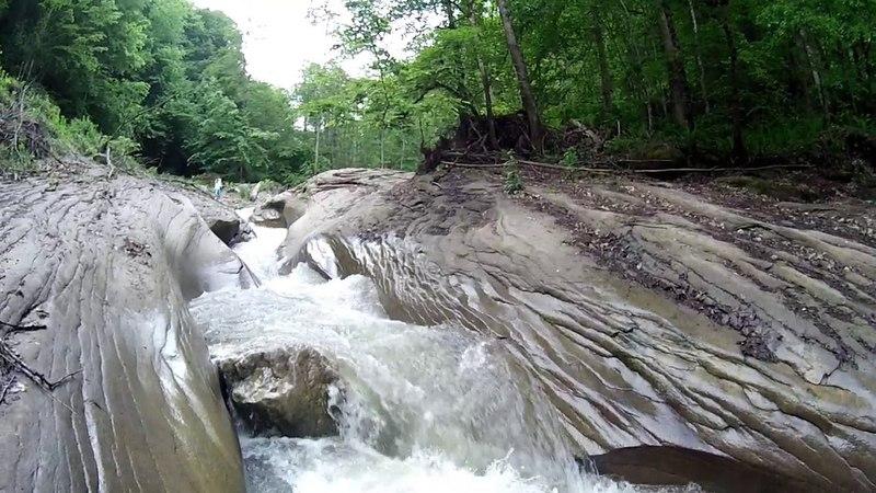 путь Комсомольчанина в Краснодаре 8 Никитинские водопады
