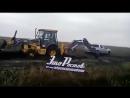 Сказ о том, как 5 машин и 2 трактора одну Ниву не смогли достать - декабрь 2017 - Это Ростов-на-Дону