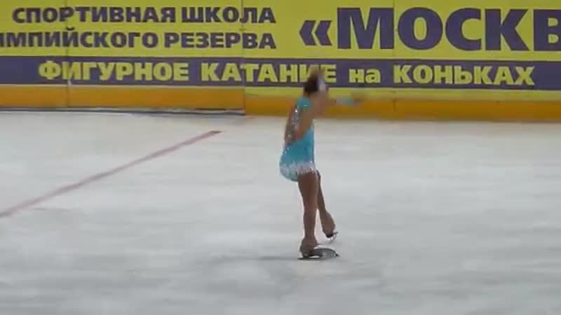 Анна Фролова, КП (1 сп.), Открытое первенство Москвича 2017