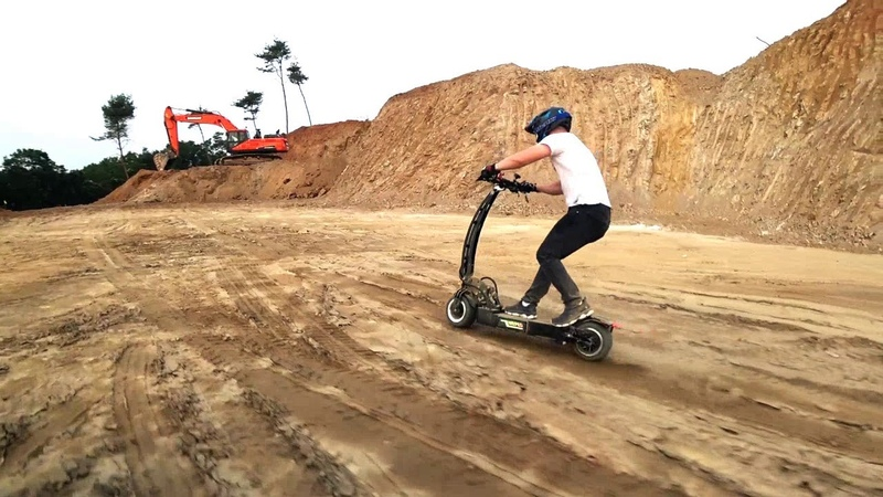 WEPED RR Off road test electric scooter WEPED RR