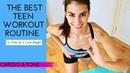 10-минутная тренировка для тонуса и похудения для подростков. The Best Teen Tone Up Routine 💜 10 Minute Teen Workout to Tone Up Lose Weight