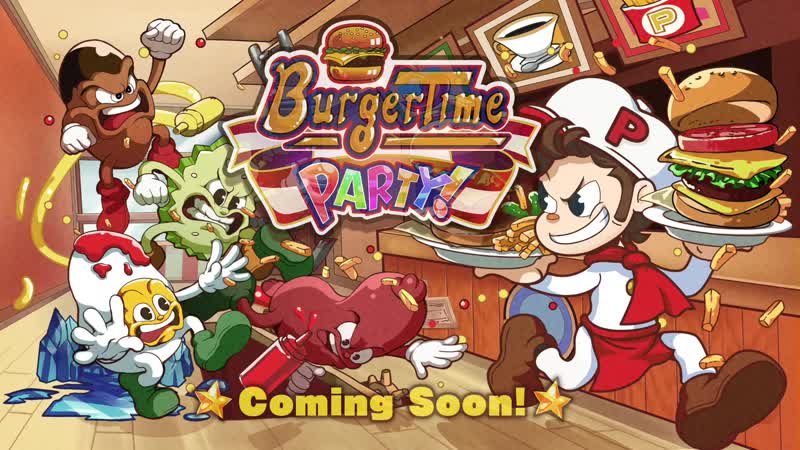 BurgerTime Party Тизер трейлер