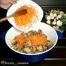Обед Спагетти с курицей и овощами в соево медовом соусе