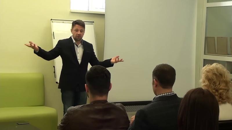 Мастер класс Антона Шаповала в Фонде Поддержки Предпринимательства в Уфе
