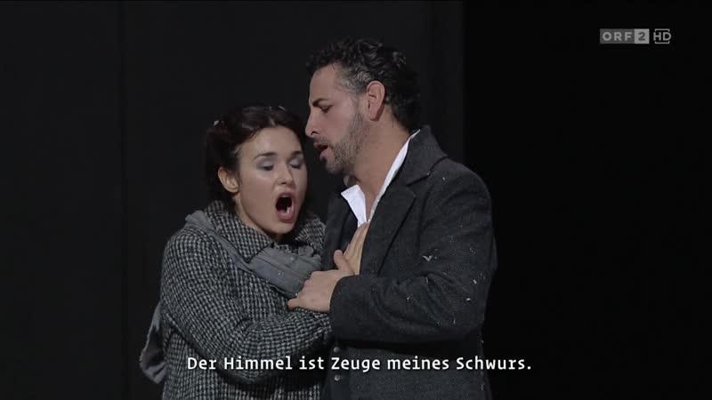 Wiener Staatsoper Gaetano Donizetti Lucia di Lammermoor Вена 15 02 2019 Акт I и II