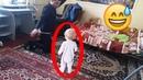 Мама поставила скрытую камеру и вот что она увидела 1.3 years baby dancing