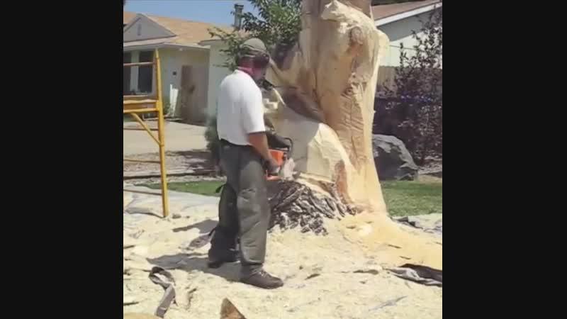 Владение бензопилой - Строим дом своими руками