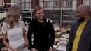 Jamie Foxx Taron Egerton Sing on Set 'Robin Hood' Set Visit Fandango All Access